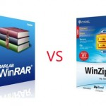 WinRAR software vs WinZip software